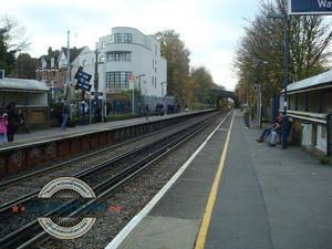 Westcombe Park Station