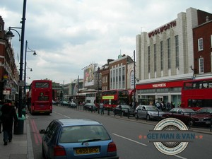 Fastest man and van in Brixton, SW2, SW9