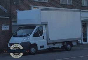 Arnos-Grove-parked-white-van