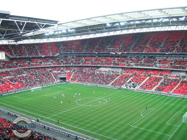 Stands of Wembley Stadium